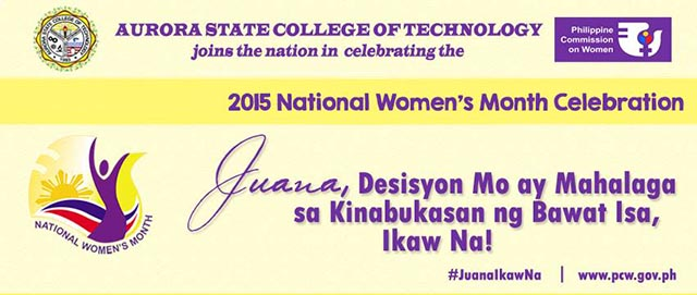 2015 National Women's Month Celebration