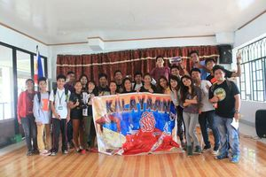 ASCOT Students  together with the Young Volunteers of the FREEDOM Caravan